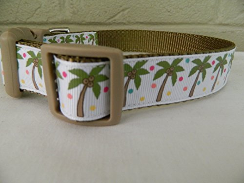 Schmoopsie Couture Palm Tree Dog Collar (Small 1
