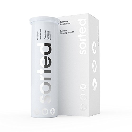 Sorted - Recovery Supplement with Ginseng & 5HTP - Tropical Flavour rehydration