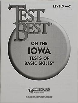 ??BEST?? Test Best ITBS: Test Workbook Grade 1 (Level 6 - 7). civilian filling tailored defecto Lawrence Orange Michael