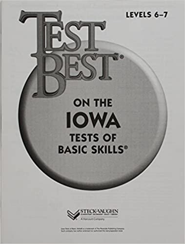 Test best itbs test workbook grade 1 level 6 7 steck vaughn test best itbs test workbook grade 1 level 6 7 1st edition fandeluxe Gallery