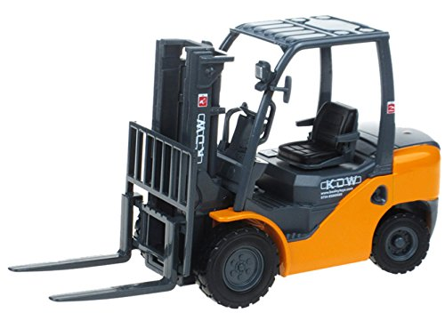 Happy Cherry Forklift Truck Toys With Tow-Coupling - Orange ()