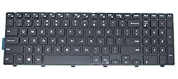Lefix Replacement Non-backlit Keyboard (With Frame) For Dell Inspiron 15 3000 5000 3541 3542 3543 5542 5545 5547 Series 15-5547 15-5000 15-5545 17-5000