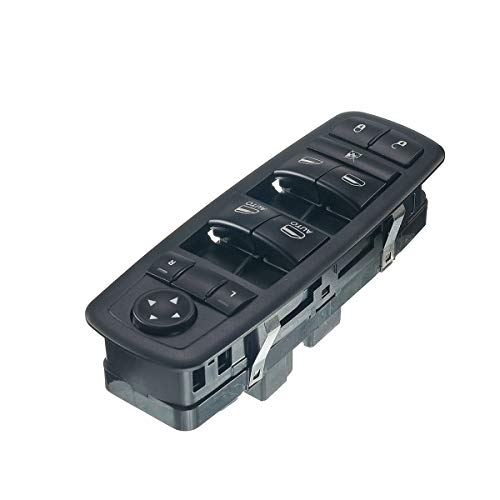 A-Premium Power Master Window Switch for Chrysler Town & Country Jeep Liberty Dodge Grand Caravan Journey Ram 1500 2500 3500 Front Left Driver Side