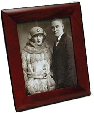 Mahogany Picture Frame Wood Photo Case Wall Hanging Image Mount Photograph Stand