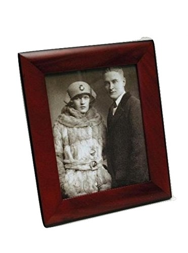 Amazon Mahogany Wood Picture Frame 8x10 Inch Brown Photo Frame