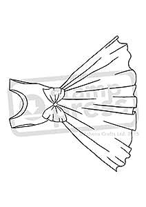 A7'vestido' sello de goma (sin montar (sp00003708)
