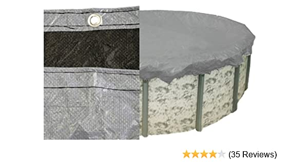 Amazon.com : PoolTux 121225A King Winter Cover for 21-Feet Round ...