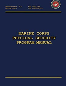 marine corps physical security program manual department of the rh amazon com navy personnel security manual navy personnel security manual