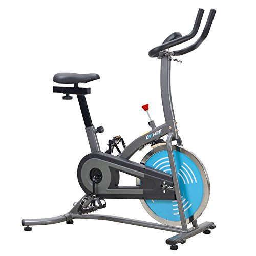 EFITMENT Indoor Cycle Bike, Quiet Belt Drive Cycling Trainer Exercise Bike; Low Maintanance - IC007