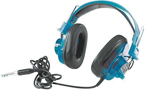 Califone 2924AVPS-BL Deluxe Stereo Headset, 10 Ounces, Blueberry