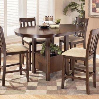 Amazoncom Ashley Furniture Nico 5 Piece Counter Height Dining