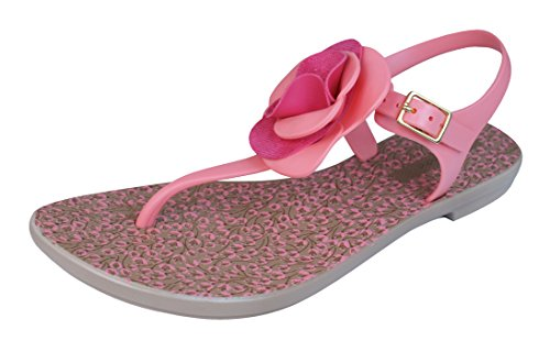 Grendha Bouquet Sandal Womens Flip Flops / Sandals - Pink Pink