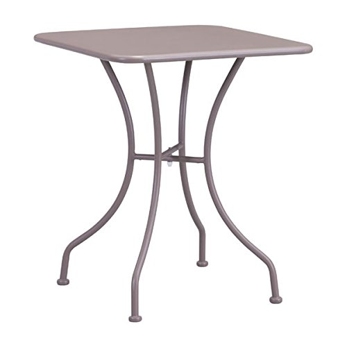 Zuo Oz Dining Square Table, Taupe