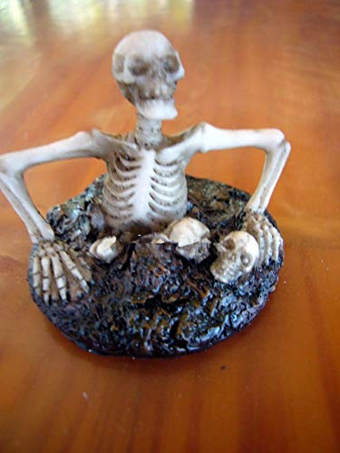 Miniature Skeleton Climbing Out of The Ground LS
