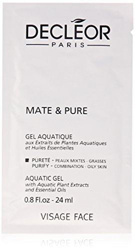 Decleor Mate and Pure Mask Vegetal Powder for Combination to Oily Skin, 10 Count -