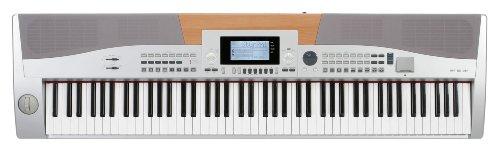 Classic Cantabile SP-15 SL Stagepiano (88 Tasten E-Piano, 560 Sounds, 64-fach polyphon, Metronom, SD-Slot, MIDI, USB) silber