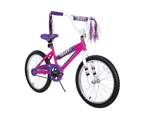 """Dynacraft 8109-25ZTJ Girls Sapphire Magna Bike, Silver / Pink, 20"""""""