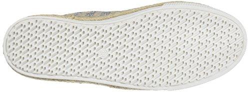 Zapatillas Mujer Silver Plateado sin 64408 Refresh Cordones para UwxF58Hq1