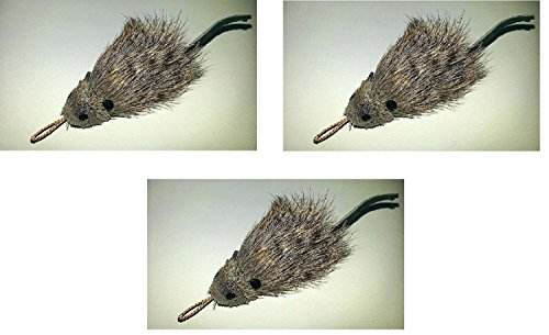 Da Rat -3 Pack Da Rat-Refill/Attachments-Fits Da Bird,Cat Catcher, Clarion Baton & Flying Frenzy Poles & Wands
