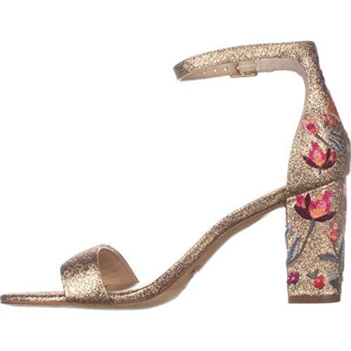 inc gold heels - 9