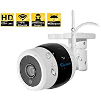 InCliick B2 HD Waterproof WIFI Outdoor Wireless Security Camera, Internet Access, Day Night Vision, Plug & Play ,960P ,Email Alerts, InCliick Apps for iPhone, iPad, Android.