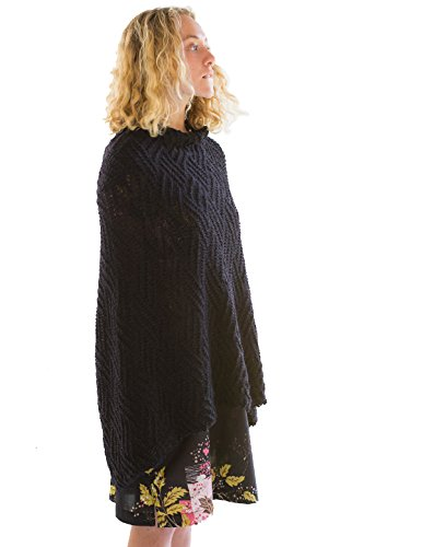 Lazybones Suzy Poncho in Charcoal by Lazybones (Image #1)
