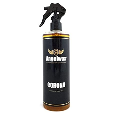 Angelwax Corona Synthetic Spray Wax Brilliant Shine, Glossy, Quick & Easy to Use, Suitable for Paintwork, Plastic, Rubber and Vinyl (250ml)