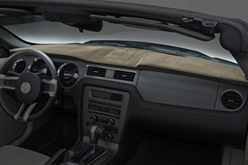 Coverking Custom Fit Dashboard Cover for Select Honda Accord Models - Velour (Taupe)