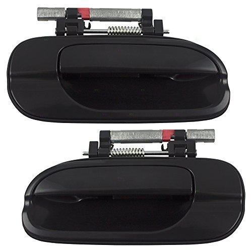 Nissan Sentra Rear Door - Pair Set Rear Outside Exterior Door Handles Replacement for Nissan Sentra 82607-6Z603 82606-6Z603 AutoAndArt