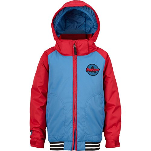 Burton Boys Minishred Game Day Jacket, Glacier Blue/Process Red, (Glacier Systems Jacket)