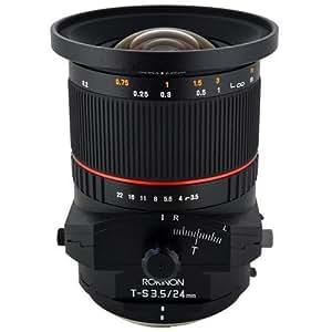 Rokinon T-S 24mm f/3.5 Wide Tilt-Shift Lens (for Canon EOS Cameras)