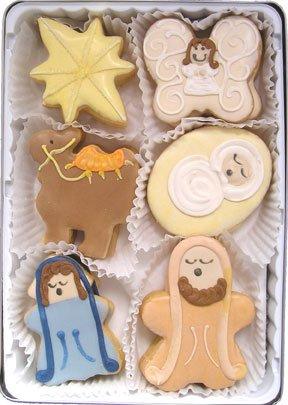 Amazon Com Beautiful Sweets Nativity Organic Cookies 12 Cookies