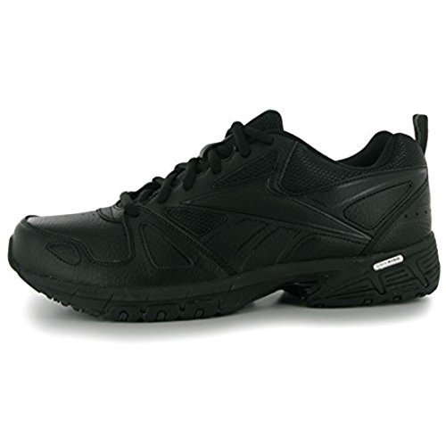 outlet collections Reebok Mens Advanced Trainers Sport Training Shoes Fitness Laced Up Breathable Black/Gravel prices cheap price crLVI