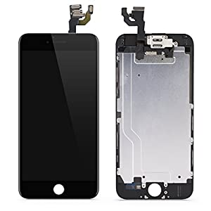 Iphone 6 LCD Display Screen Replacement Parts Kit Digitizer Assembly Touch Screen 4.7 Inch (White)