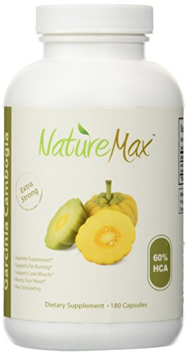 UPC 706084167119, NatureMax TM Quality Garcinia Cambogia Extract with 60% HCA, Maximum Strength, 180 Capsules - Clinically Proven All-Natural Weight Loss Supplement And Appetite Suppressant Vitamin