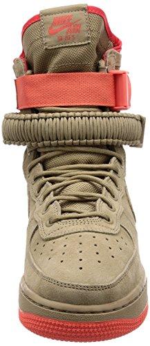 Nike Hommes Sf Force Aérienne 1 Chaussure Kaki / Rush Corail