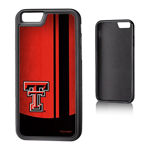Red Tech Bumper Texas Raiders - Texas Tech Red Raiders iPhone 6 & iPhone 6s Bumper Case officially licensed by Texas Tech for the Apple iPhone 6 by keyscaper® Flexible Full Coverage Low Profile