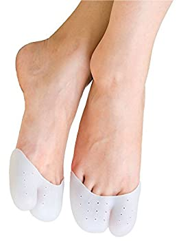 Ball of Foot Cushions, Luvu Soft Forefoot Cushions Pads for Foot Relief (1 Pair ) (Full Toe)
