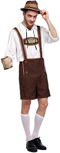 LCWORD Disfraces De Halloween Disfraz De Oktoberfest para Hombres ...