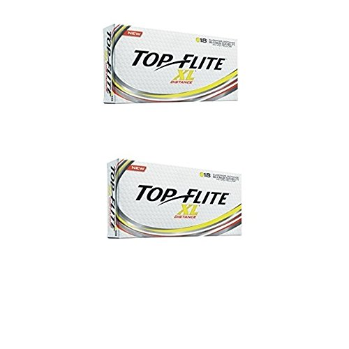 Top Flite XL Distance Yellow (36 Pack)