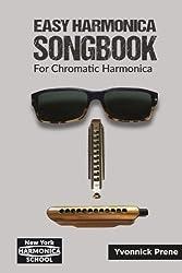 Easy Harmonica Songbook for Chromatic Harmonica: 70 Audio Examples | Lyrics and Tabs