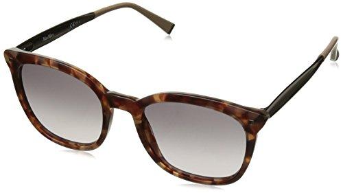 Max Mara MM Needle III USL Havana MM Needle III Square Sunglasses Lens - Max Square Mara Sunglasses