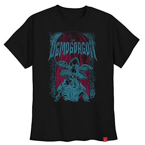 Camiseta Stranger Things Demogorgon Camisa Série Ultra Skull XG