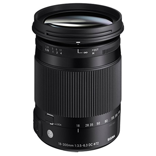 Sigma 18-300mm F3.5-6.3 DC Macro OS HSM ( C ) for Nikon (DX) Cameras