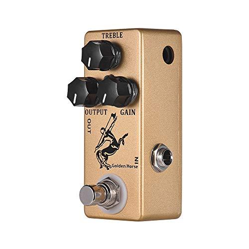 - Kalaok Golden Horse Guitar Overdrive Effect Pedal Full Metal Shell True Bypass