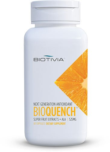 Biotivia Bio Quench Super Antioxidant -- 60 Vegetarian Capsules - 3PC by Biotivia