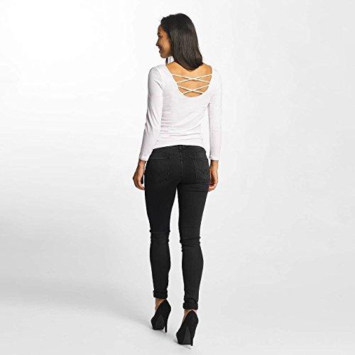 Mujeres Le Jeans Des Temps ajustado Vaqueros Negro Ultrapower Cerises 1tw4fwaq