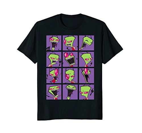 Nickelodeon Invader Zim Freak Out Collage T-Shirt