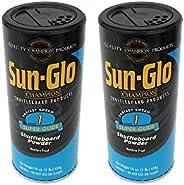 Sun-Glo #1 Shuffleboard Powder Wax (16 oz.) (Pack of 2)