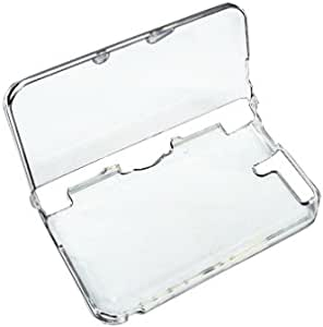 OSTENT Protective Clear Crystal Hard Guard Case Cover Skin Shell Compatible for Nintendo 3DS XL/3DS LL Color Clear White